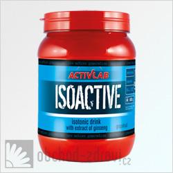 ActivLab Isoactive iontový nápoj s ženšenem 630 g grapefruit AKCE
