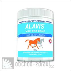 ALAVIS MSM pro koně + vitamin C 600 g