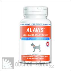 ALAVIS MSM+Glukosamin sulfát 60tbl