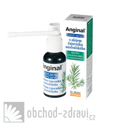 Anginal® ústní sprej s olejem čajovníku australského 30ml