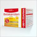 Cemio Betakaroten 6 mg 80+40 cps zdarma