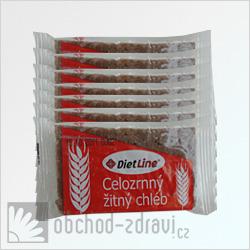 Dietline celozrnný žitný chléb 7 balení po 2x20 g