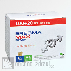 Eregma Max Power 100+20 tbl zdarma