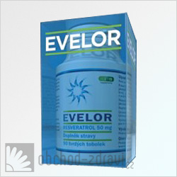 Evelor resveratrol 50 mg 90 cps