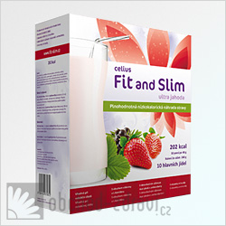 Fit and Slim Ultra jahoda 480 g AKCE