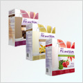 Fit and Slim 3 pack 3x480 g (okolda, jahoda, vanilka) AKCE