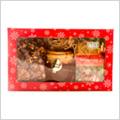 Dárková kazeta vánočních čajů+med ZDARMA