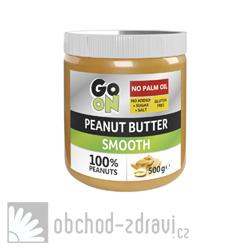 GO ON Arašídové máslo 500 g AKCE