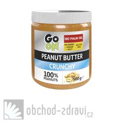 GO ON Arašídové máslo s kousky arašídů 500 g AKCE