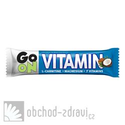 GO ON Vitaminová tyčinka kokos l-carnitin 50 g AKCE