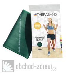 Thera-Band Posilovací guma silná 2m zelená
