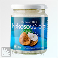 Allnature Premium Kokosový olej Bio 250 ml UKONČEN PRODEJ