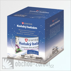 Swiss Kosk balzm chladiv 500+50 ml zdarma