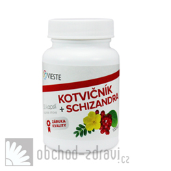 Vieste Kotvičník + Schizandra 30 cps