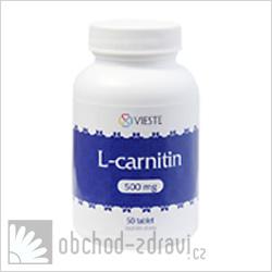 Vieste L-carnitin 500 mg 50 tbl