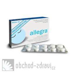 Woykoff Melatonin Allegra® 6 mg 30 pas AKCE