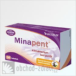 Minapent+šalvěj lékařská 30 tob