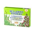 Müllerovy pastilky® s jitrocelem, mateřídouškou a vitaminem C (průdušky) 12 ks