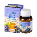 Müllerovi medvídci® tablety s příchutí černého rybízu a vitaminem C 45 tbl