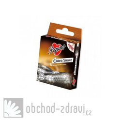 Pepino kondomy Cobra Snake 3 ks