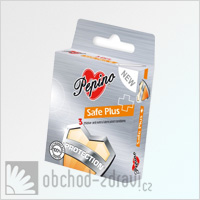Pepino prezervativ Safe Plus 3 ks