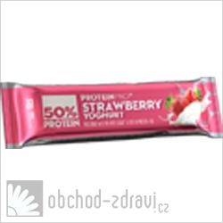 FCB ProteinPRO 50% Proteinová tyčinka jahoda jogurt 45 g
