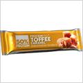 FCB ProteinPRO 50% Proteinová tyčinka toffee karamel 45 g