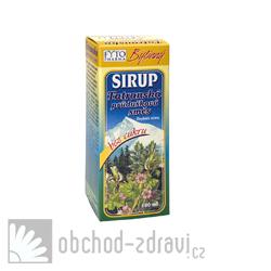 Fytopharma Bylinný sirup Tatranská průdušková směs® bez cukru 100 ml