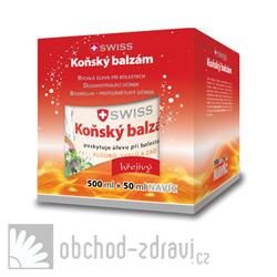 Swiss Koňský balzám hřejivý 500+50 ml zdarma