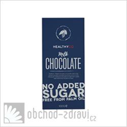 Healthyco Čokoláda bez cukru mléčná 100 g