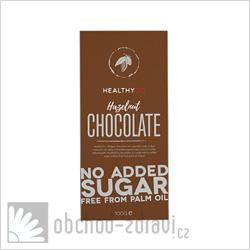 Healthyco Čokoláda bez cukru oříšková 100 g