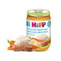 Hipp BIO Zelenina a rýže s telecím masem 220 g