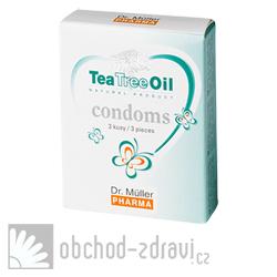 Ty a Ja Kondomy s TeaTreeOil 3 ks