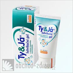 Lubrikační gel Ty & Já Tea Tree oil 50 ml