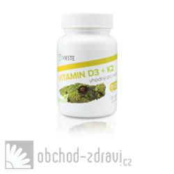 Vieste Vitamin D3 + K2 30 tbl AKCE