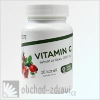 Vieste Vitamín C extrakt ze šípku 2000 mg 30 cps AKCE