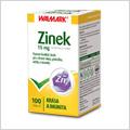 Walmark Zinek 15 mg 100 tbl
